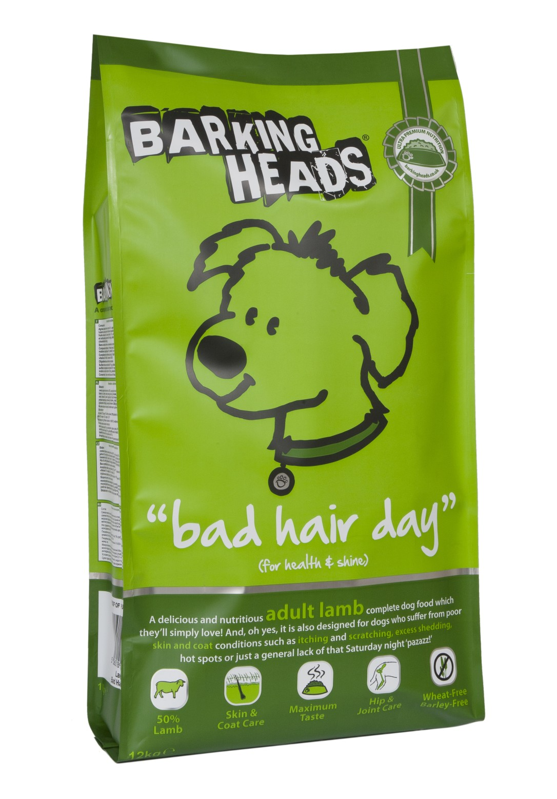 BARKING HEADS Bad Hair Day 12kg