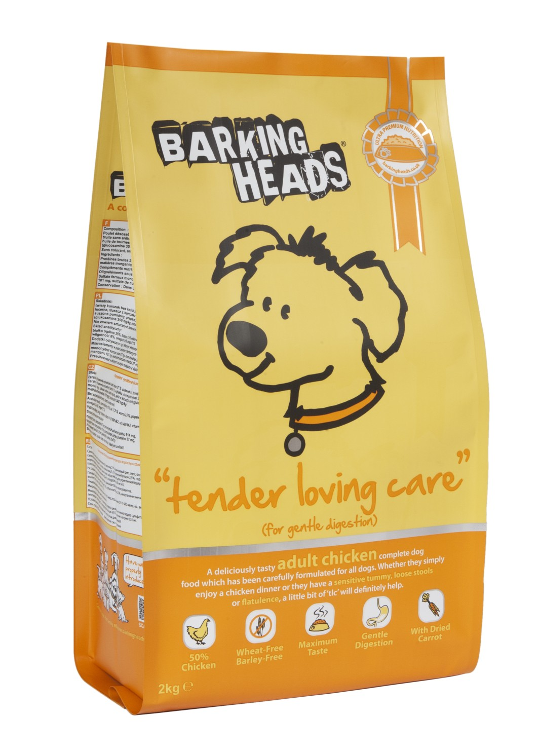 BARKING HEADS Tender Loving Care 2kg