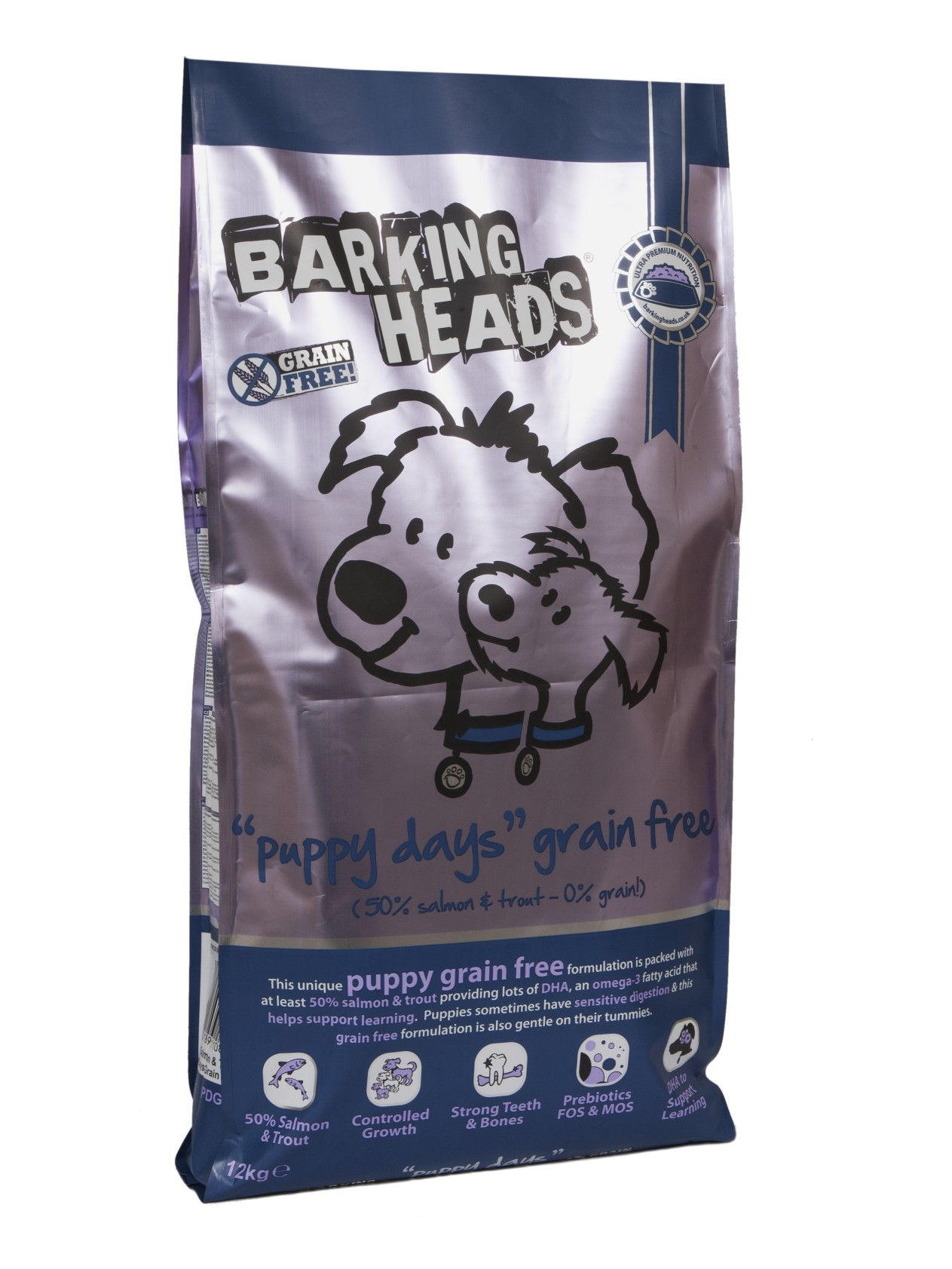 BARKING HEADS PROFESSIONAL PUPPY GRAIN FREE 18kg