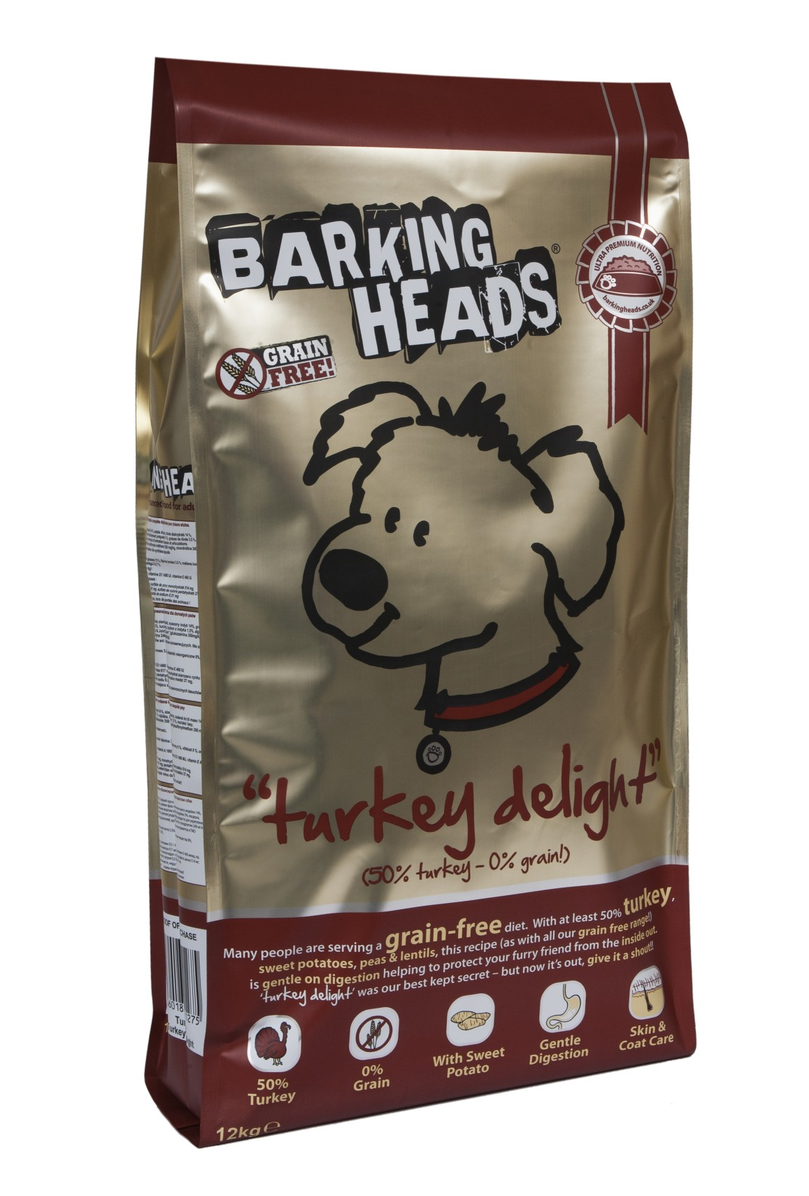 BARKING HEADS PROFESSIONAL TURKEY GRAIN FREE 18kg