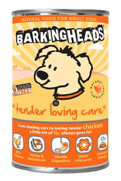 BARKING HEADS Tender Loving Care konz. 400g new