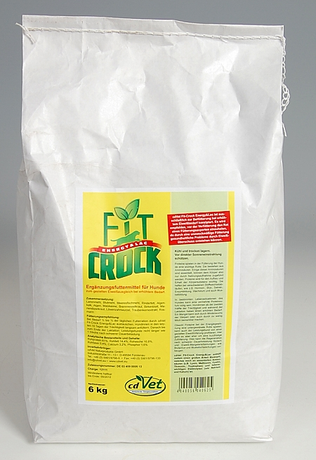 CdVet Fit-Crock Energy & Lac 6 kg