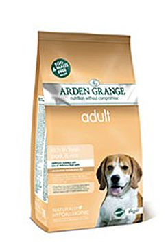 Arden Grange Dog Adult Pork Rice 6kg