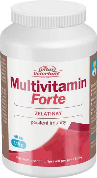 VITAR Veterinae Multivitamin Forte 40ks želé