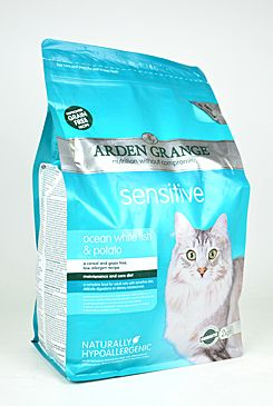 Arden Grange Cat Sensitiv White Fish&Potato 2kg