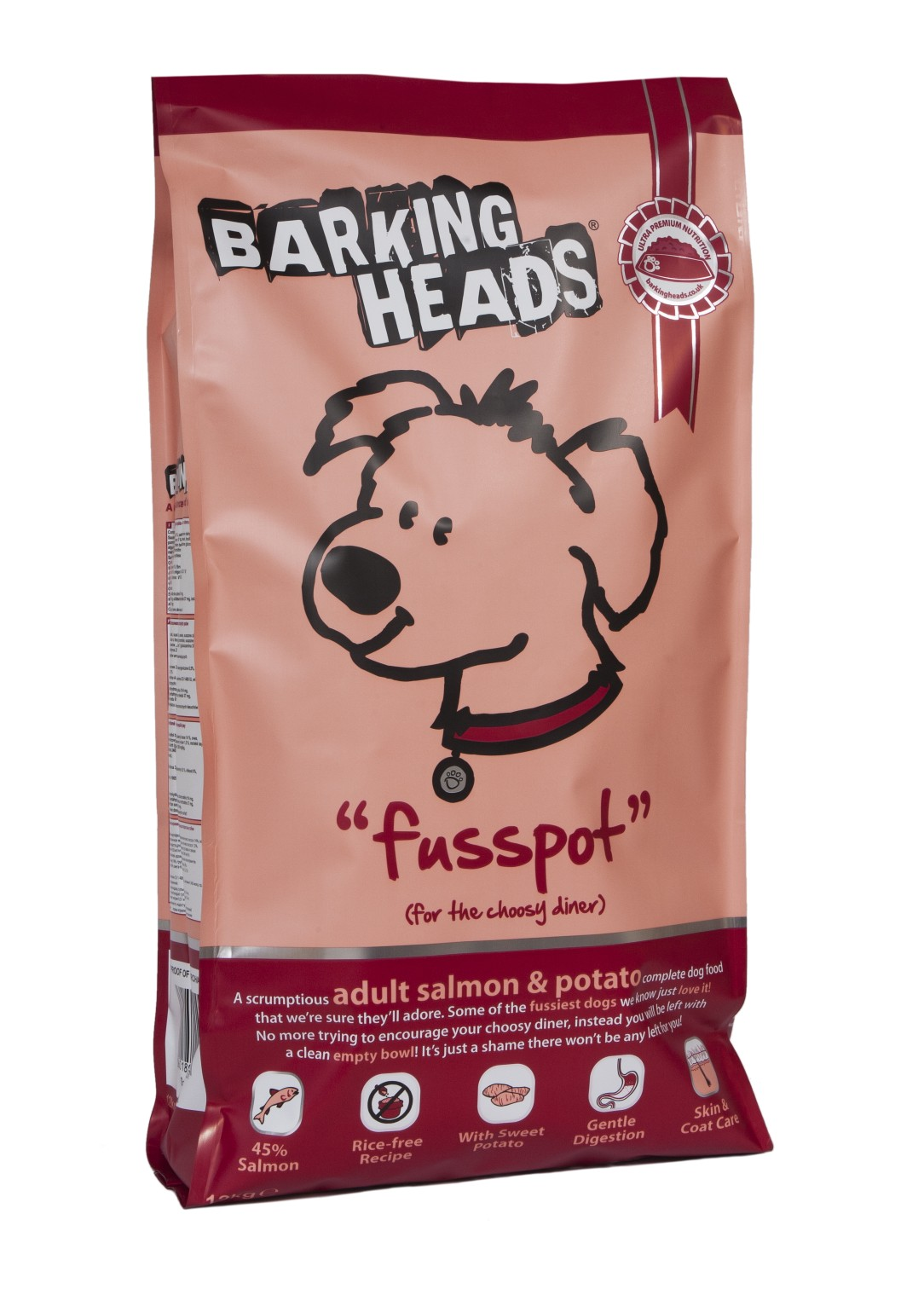 BARKING HEADS PROFESSIONAL SALMON 18kg