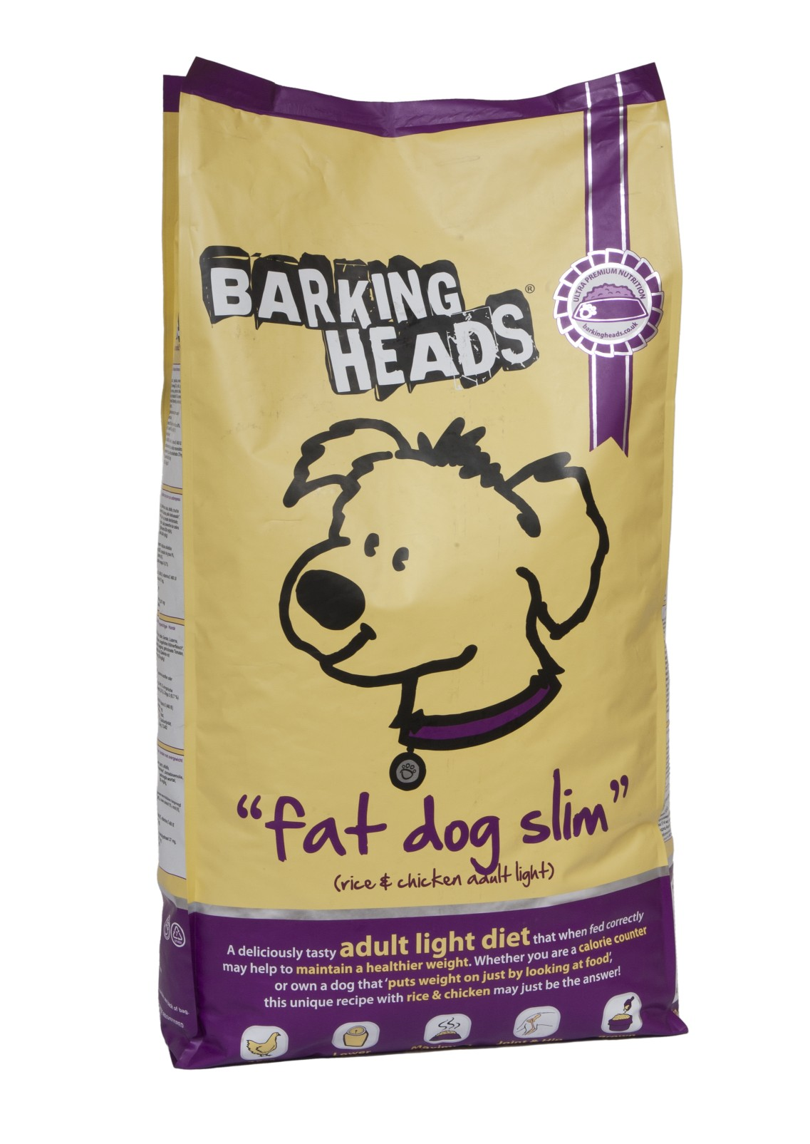 BARKING HEADS PROFESSIONAL LIGHT 18kg