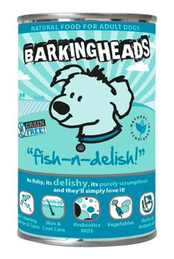 BARKING HEADS Fish-n-Delish konz. 400g new