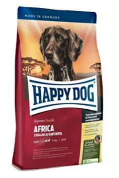 Happy Dog Supreme Sensible AFRICA pštros 4kg