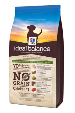 Hill's Canine Ideal B. Adult NO GRAIN kuře bram 2kg