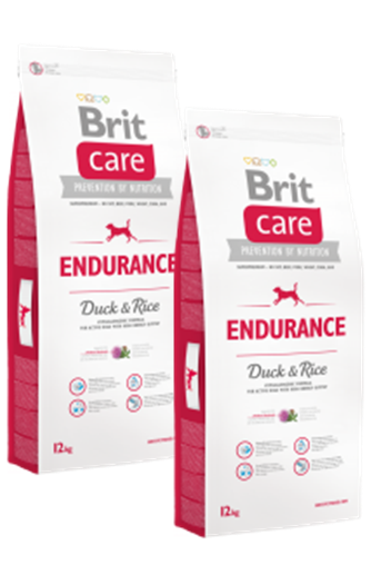 DuoPack Brit Care Dog Endurance 12kg