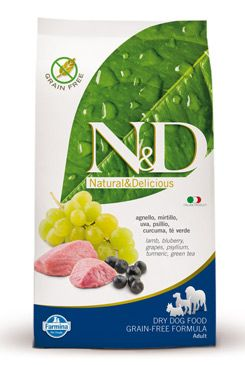 N&D GF DOG Adult Lamb & Blueberry 12kg