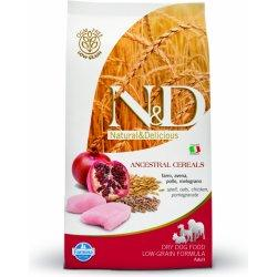 N&D LG DOG Adult Mini Chicken & Pomegranate 2,5kg
