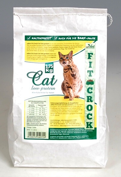 cdVet Fit-Crock Cat Low protein 1,75 kg
