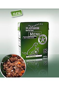 Platinum Menu Chicken 375g