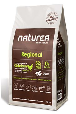 Naturea GF dog Regional - Adult all breeds 12kg