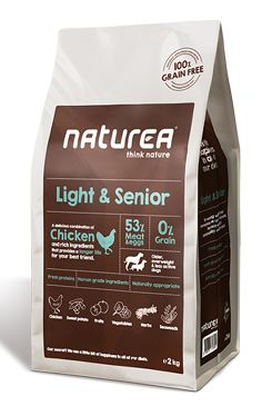 Naturea GF dog Light&Senior- all breeds 12kg