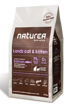Naturea GF cat Lands - all breeds all lifestages 2kg
