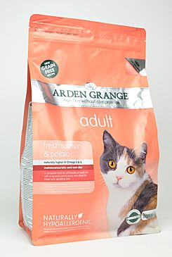 Arden Grange Cat Adult Salmon&Potato 2kg